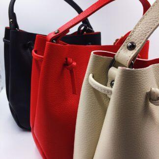 Handtasche Echtleder diverse Farben