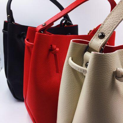 Handtasche Echtleder diverse Farb