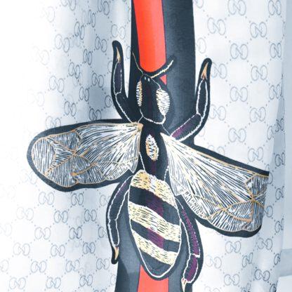 Leichter Seidenschal im Gucci-Style